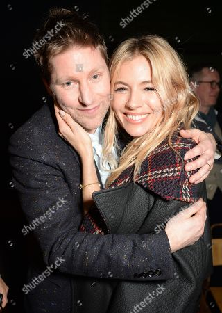Christopher Bailey and Sienna Miller