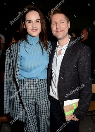 Michelle Dockery and Christopher Bailey