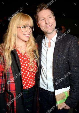 Paloma Faith and Christopher Bailey