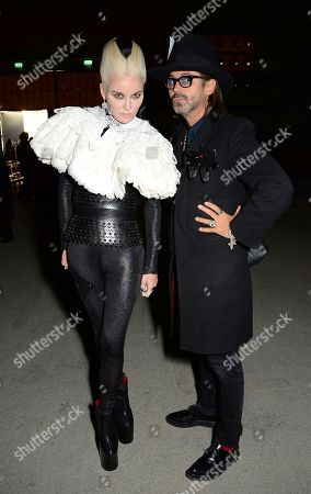 Daphne Guinness and guest