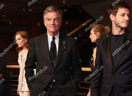 Director Benoit Jacquot (L) at the premiere of 'Eva' during the 68th annual Berlin International Film Festival (Berlinale), in Berlin, Germany, 17 February 2018. The Berlinale runs from 15 to 25 February.