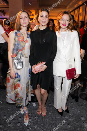 Stock Picture of Katharina Schuettler, Aylin Tezel and Lavinia Wilson