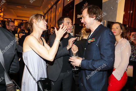 Stock Picture of Jenny Schily, Nikolai Kinski and Lars Eidinger