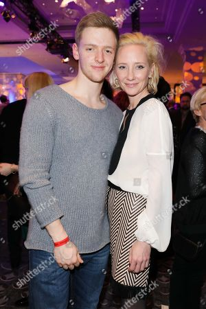 Timur Bartels and Anne Heche