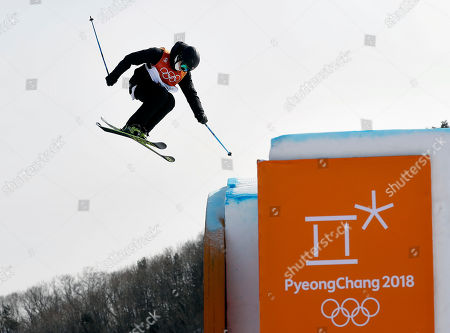 Editorial photo of Olympics Freestyle Skiing Men, Pyeongchang, South Korea - 18 Feb 2018