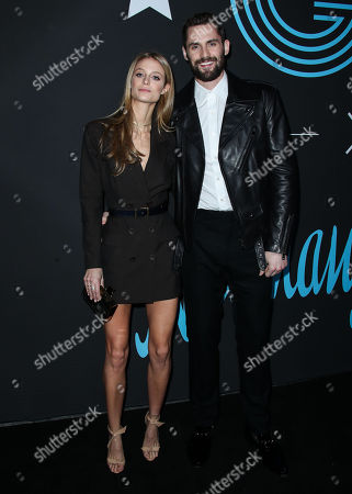 Editorial photo of GQ All Star Basketball party, Arrivals, Los Angeles, USA - 17 Feb 2018