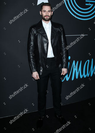 Editorial picture of GQ All Star Basketball party, Arrivals, Los Angeles, USA - 17 Feb 2018