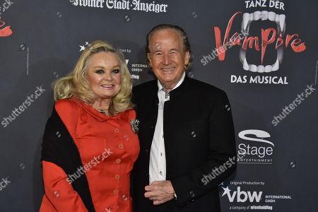 Max Schautzer, wife Gundel