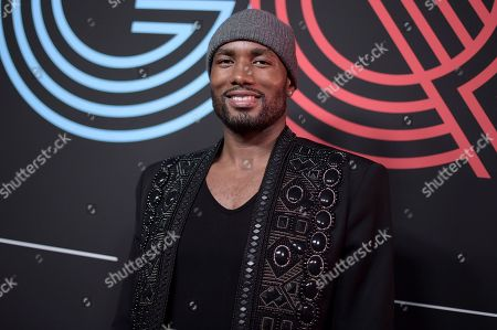Serge Ibaka attends 2018 All-Stars in Los Angeles GQ Celebration at the NoMad Hotel on Saturday, Feb.18, 2018, in Los Angeles