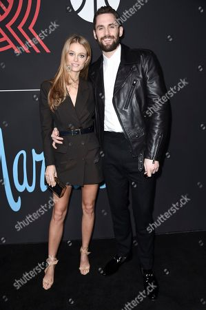 Kate Bock, Kevin Love. Kate Bock, left, and Kevin Love attend 2018 All-Stars in Los Angeles GQ Celebration at the NoMad Hotel on Saturday, Feb.18, 2018, in Los Angeles