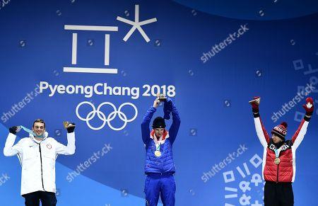 Editorial picture of Freestyle Skiing - PyeongChang 2018 Olympic Games, Daegwallyeong-Myeon, Korea - 18 Feb 2018