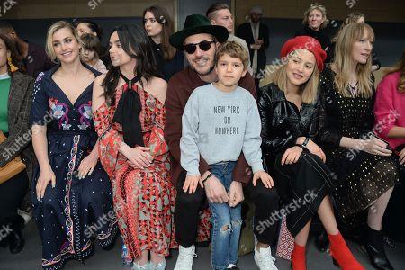 Stock Image of Stefanie Martini, Hayley Squires, Boniface Verney-Carron, Nikko Muse, Tess Ward and Jade Parfitt