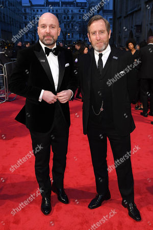 Johnny Harris and Michael Smiley