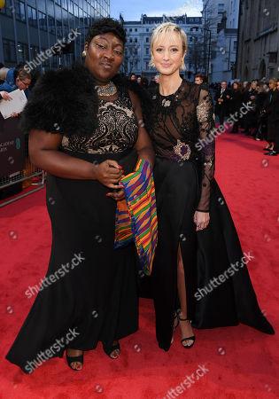 Editorial image of 71st British Academy Film Awards, Roaming Arrivals, Royal Albert Hall, London, UK - 18 Feb 2018