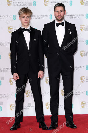 Stock Picture of Tom Taylor and Edward Holcroft