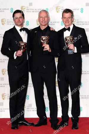 Martin McDonagh, Graham Broadbent and Peter Czernin - Outstanding British Film - 'Three Billboards Outside Ebbing, Missouri'
