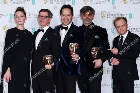 Paul Austerberry, Jeff Melvin and Shane Vieau - Production Design - 'The Shape Of Water', presented by Rebecca Ferguson and Toby Jones