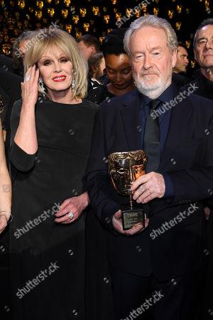 Joanna Lumley and Sir Ridley Scott
