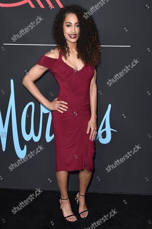 Skylar Diggins-Smith attends 2018 All-Stars in Los Angeles GQ Celebration at the NoMad Hotel on Saturday, Feb.17, 2018, in Los Angeles