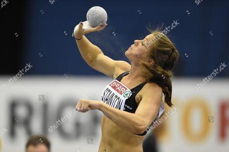 Foto stock (esclusive) a tema Spar British Athletics Indoor