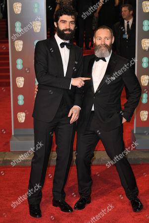 Editorial photo of 71st British Academy Film Awards, Arrivals, Royal Albert Hall, London, UK - 18 Feb 2018