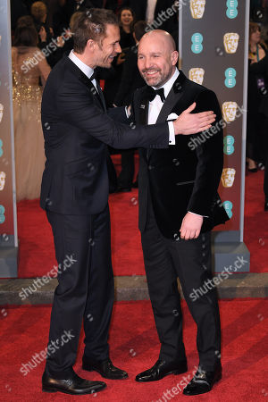 James D'Arcy and Johnny Harris
