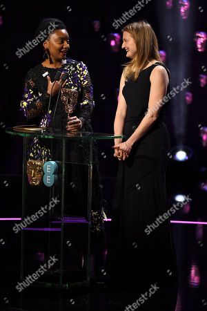 Stock Picture of Rungano Nyoni and Emily Morgan - Outstanding Debut By A British Writer, Director Or Producer - 'I Am Not A Witch'