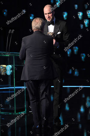 Sir Ridley Scott and Prince William