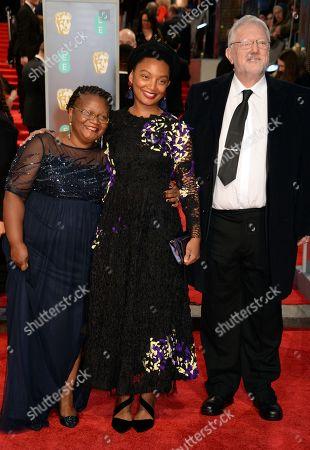 Rungano Nyoni (middle), Guests