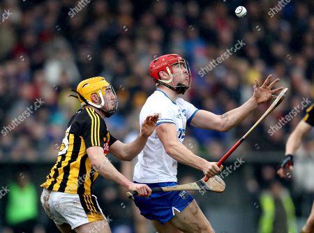 Waterford vs Kilkenny. Waterford's Tadhg de Burca and Billy Ryan of Kilkenny