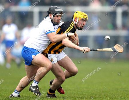 Waterford vs Kilkenny. Waterford's Noel Connors and Billy Ryan of Kilkenny