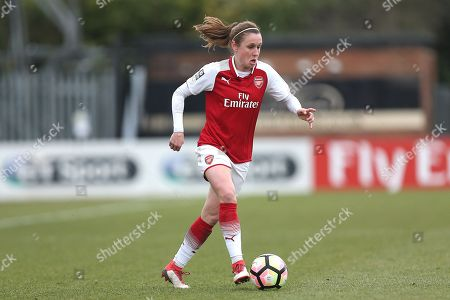 Heather O'Reilly of Arsenal during Arsenal Women vs Millwall Lionesses, SSE Women's FA Cup Football at Meadow Park on 18th February 2018