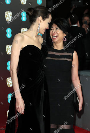 Stock Photo of Angelina Jolie and Loung Ung