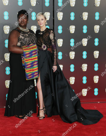 Stock Picture of Time's Up activist Phyll Opoku-Gyimah and Andrea Riseborough