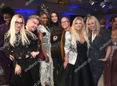 Editorial photo of Fashions finest show, Autumn Winter 2018, London Fashion Week, UK - 18 Feb 2018