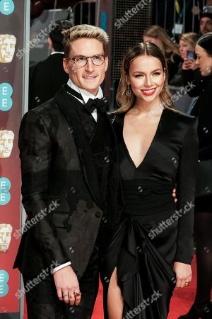 Stock Image of Ollie Proudlock and Emma Connolly