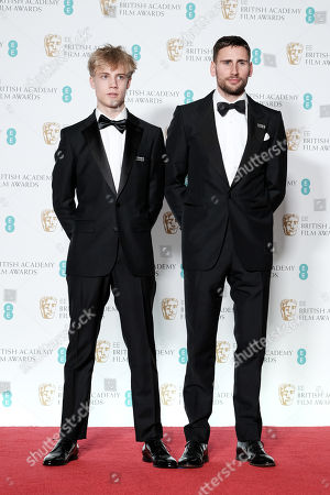 Tom Taylor and Edward Holcroft