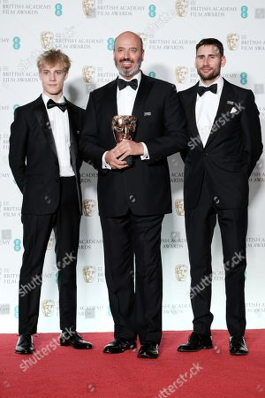 Mark Bridges ?Phantom Thread? wins Best Costume Design presented by Tom Taylor and Edward Holcroft