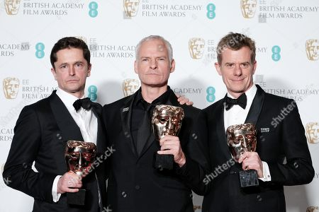 Editorial picture of 71st British Academy Film Awards, Press Room, Royal Albert Hall, London, UK - 18 Feb 2018