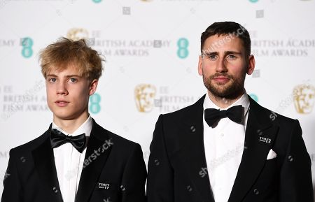Editorial picture of Press Room - 2018 EE British Academy Film Awards, London, United Kingdom - 18 Feb 2018
