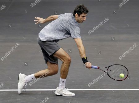 Editorial picture of New York Open Tennis, Uniondale, USA - 18 Feb 2018