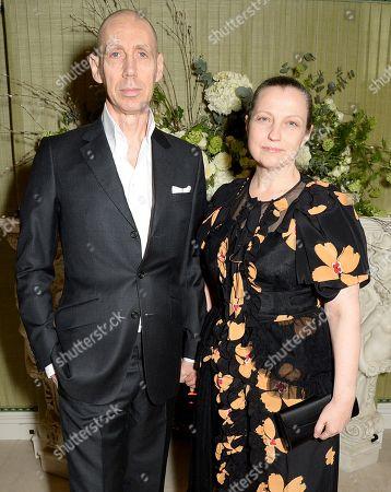 Stock Photo of Nick Knight and Charlotte Knight