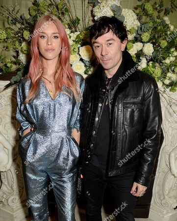 Mary Charteris and Robbie Furze