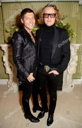 Evangelo Bousis and Peter Dundas