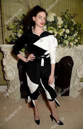 Editorial picture of Vogue and Tiffany & Co party, Annabel's, London, UK - 18 Feb 2018