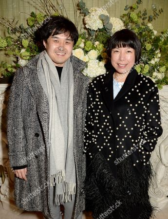 Angelica Cheung (R) with guest