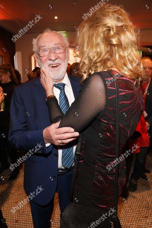 Dieter Hallervorden mit partner Christiane