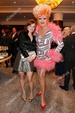 Nina Petri and Olivia Jones