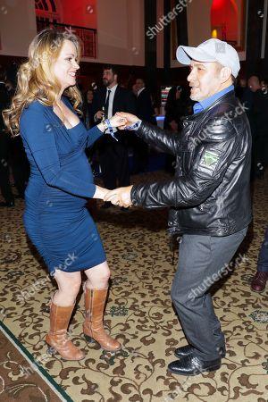 Erdogan Atalay mit Ehefrau Astrid