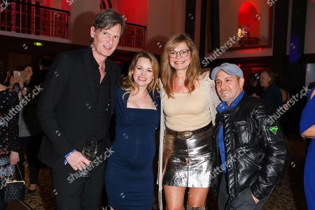 Maren Gilzer mit partner Harry Kuhlmann and Erdogan Atalay mit Ehefrau Astrid